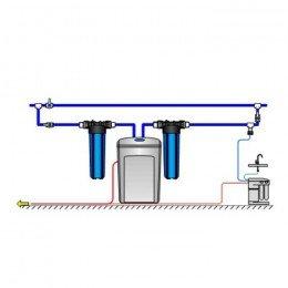 Аквафор WaterBoss 400 + Гросс 2 шт. + Морион + Соль 2 мешка
