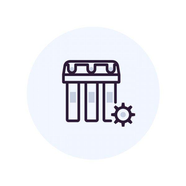 Программирование управляющей головы колонны